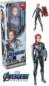 Marvel Black Widow 12 Inch Endgame Titan Hero Series Figure