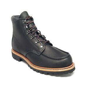 Red Wing Sawmill Leather Boots in Black Mens Size 9