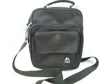 Everest Cross Body Messenger Shoulder Bag Three Zip Compartments One Flap