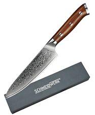 Allzweckmesser Küchenmesser Damast Kochmesser Damaststahl Damastmesser DI-005