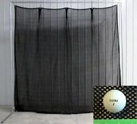 Golf Net Baffle 10' x 10' Replacement Home Practice Golf Baffle Netting Screen