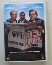 DVD LES 3 FRERES LE RETOUR - Didier BOURDON / Bernard CAMPAN / Pascal LEGITIMUS