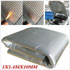 Car Engine Bonnet Acoustic Insulation Deadening Heat Shield Floor Mat 10mm 1X1.4