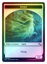 MTG Spirit Token FOIL Unstable - LP