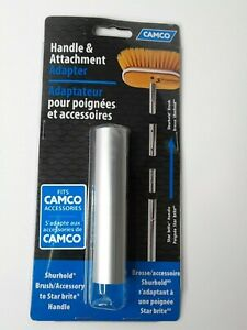 Camco Handle Attachment Adapter Shurhold Brush to Star Brite Handle New