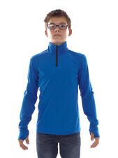 Brunotti Fleece Pullover Function Top Jumper Blau Terni Jr Isolé
