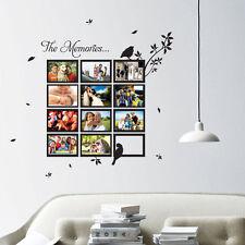 CORNICE Foto Multi Bird ALBERO ARTE Muro preventivi/Adesivi Da Parete/Adesivi Murali 10-th