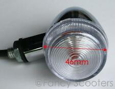 12V Front or Rear Turn Signal Light With White Cover
