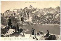 CPA Suisse lémanique Grand Saint-Bernard Religieux lac