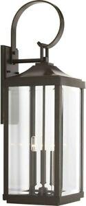 Progress Lighting Gibbs Street 3-Light Outdoor Bronze Wall Lantern P560023-020