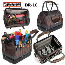 Veto Pro Pac DR-LC Large Gate Mouth Zippered Closed Top Tech Tool Bag f9e0fc3164cfc