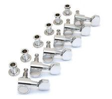 Mécaniques FENDER 6 en ligne - 0055401000 - 2 pins - chrome - pour guitares