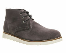 Suede Lace Up Ask the Missus Boots for Men