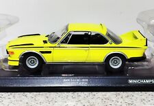 MINICHAMPS 1/18 SCALE BMW 3.0 CSL 1973 - LIMITED EDITION 1 OF ONLY 504 PIECES
