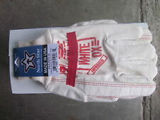 NORTH STAR ORIGINAL WHITE OX  WORK GLOVES 1016 LARGE  12 Pr Made in the  U.S.A.