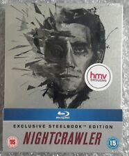NIGHTCRAWLER STEELBOOK [NEW/Blu-ray] HMV Exclusive w/sticker UK Import