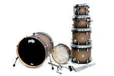 PDP Concept Maple 22B/10T/12T/14T/16FT/14SD Satin Charcoal Burst