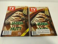TV Guide June 12-18 1999 Star Wars Jabba The Hut Collectible Cover Set hd3035
