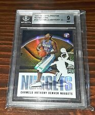 2003-04 Topps Pristine #107 CARMELO ANTHONY Rookie RC Refractor BGS Mint 9! HOF?
