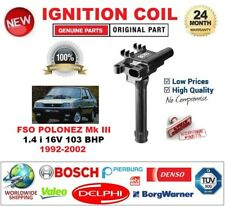 FOR FSO POLONEZ Mk III 1.4 i 16V 103 BHP 1992-2002 IGNITION COIL 2-PIN TYPE SAE