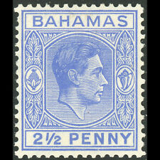 BAHAMAS 1938-52 2.5d Ultramarine. SG 153. Lightly Hinged Mint. (AF319)