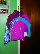 Obermeyer Tabor Ski Jacket - Youth Girls - Size Extra Large Violet Vibe Purple