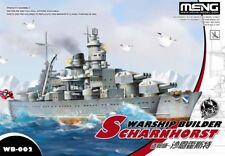 Meng Warship Builder - Scharnhorst Q Edition Egg Ship Kit #WB002
