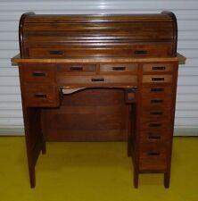 Antique Vintage Jh Rosberg Rolltop Watchmakers Jewelrymakers Bench Desk 050306