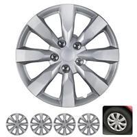 """4 PC Set 16"""" Hub Caps Silver Fits 2014 Toyota Corolla Replica Wheel Cover"""