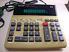 Sharp Compet Qs-2122H Adding Machine Calculator- For Parts/Repair