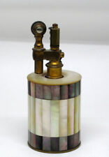 Rare Tiffany & Co Mother Pearl of Lighter c. 1900 - 1920 France Cylinder