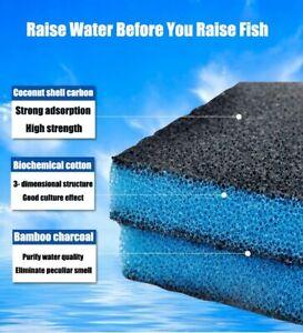 Aquarium Biochemical Filter Cotton High-density Purification Sponge Fish Tank