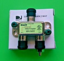 DirecTV 2 Way SWM Green Splitter MSPLIT2R0-01 SWiM 2Way Multi Switch DTV HD 2