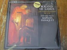 HM 2.479 Lassus The Lamentations of Job / Raphael Passaquet Vocal 2 LP SEALED