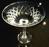 Beautiful Crystal Tazza