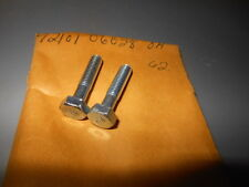 NOS OEM Factory Honda Hex Bolt XL75 XR75 CR250M CB750K CR450 QTY2 92101-06028-0A