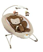 Cosy Monkey Baby Rocker Bouncer Chair With Soothing Music & Vibrations