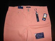 Bandolino Women's Plus Sz Mandie 5 Pocket Ankle Jean - Choose Sz/color Tropical Peach 16w
