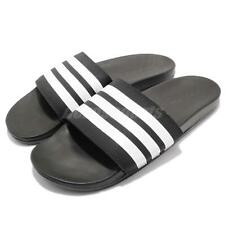 adidas Adilette Comfort Black White Men Sports Sandal Slides Slippers AP9971