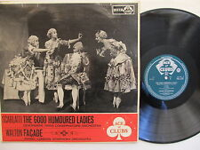 "The Good Humoured Ladies Ballet Suite Facarde Walton12"" Lp Decca ACL 219 Mono UK"