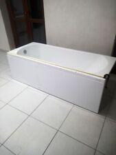 Vasca da bagno Teuco con pannello frontale e laterale sx