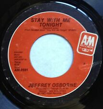 Jeffrey Osborne 45 Stay With Me Tonight / Baby