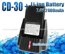 Li-ion 7.4V 2000mAh + Charger for VX-170 VX-177 FT-60R VX-150 as FNB-V67LI