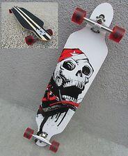 Longboard 41 Totenkopf Long Board Skateboard Surfboard abec11 Nr 43069
