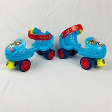 Bravo Sports Roller Skates Kids First Adjustable Quad Paw Patrol Blue age 3-6yrs