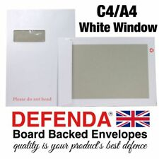 50 buste per lettera bianco crema colore chamois chiusura autoadesiva 220 x 110 mm