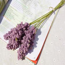 6Pieces /Bundle Lavender Cheap Artificial Flower Wholesale Plant Wall Decoration