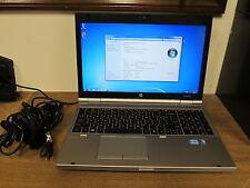 HP ELITEBOOK 8560P I7 SERIAL PORT WINDOWS 7 PRO CLEAN QUAD CORE 2720QM