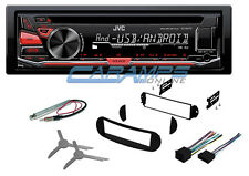 NEW JVC CAR STEREO RADIO DECK W/ USB AUX INPUT & COMPLETE INSTALL KIT FOR VW BUG