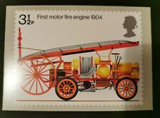 GB Rare 1974 Fire Prevention Fire Engine PHQ Card. No. 950. Mint. Cat £140.